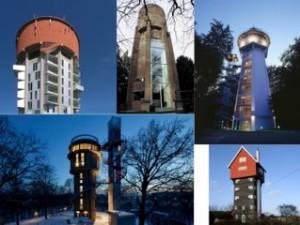 配水塔を住宅に再利用した事例