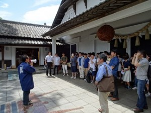 「自立と体験2」(石川酒蔵株式会社見学) (2)