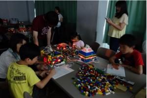 夏休み科学体験教室 ブロック模型で学ぶエコ建築